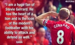 Ronaldo on Gerrard