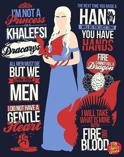 Khaleesi quotes.