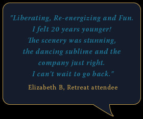 Quote from retreat attendee