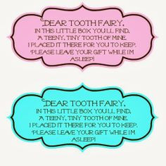 sayings for the tooth fairy boxes more education helpful fairies ...