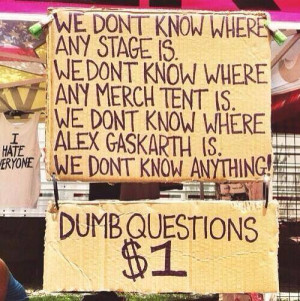funny quote stage all time low merch Alex Gaskarth question Warped ...