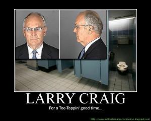 Craig: Airport bathroom trip was official business
