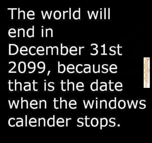 End of World Funny Quotes