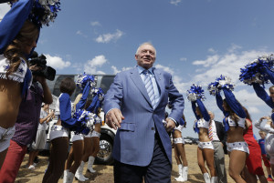 And Jerry Jones Dallas Cowboys