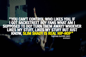 eminem, hqlines, quotes, sayings, slim shady