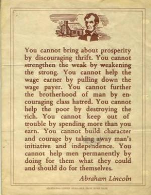 The Conservative Brawler: Abraham Lincoln Sends a Memo to Obama