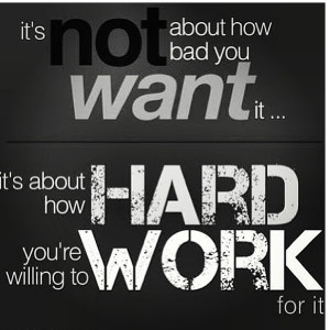 Motivational Sayings Motivational Quotes For Work It's About How Hard ...