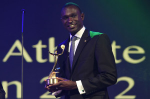david rudisha best male athlete of london 2012 award david rudisha