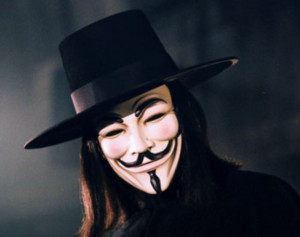 ... on the flip side of any mask of peace is often a mask of menace