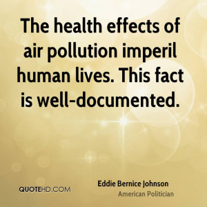 Eddie Bernice Johnson Health Quotes