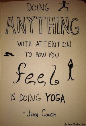 Image of inspirational yoga quotes