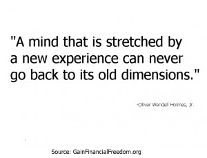 Quotes Economic Quotes by Famous People New Experience Expands Mind