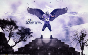 Ray Anthony Lewis 52 Baltimore Ravens 19962013 by by 445578gfx