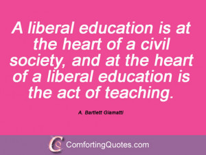Quotes And Sayings By A. Bartlett Giamatti