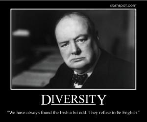 Winston Churchill on Diversity
