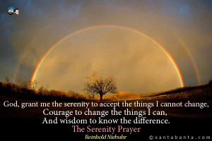 Quotes About Serenity In Nature God, grant me the serenity to