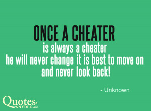 he cheating on me quotes