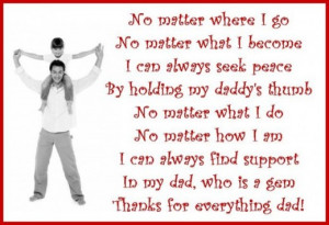 Thank you messages for dad: Poems and quotes to write on a Thank You ...
