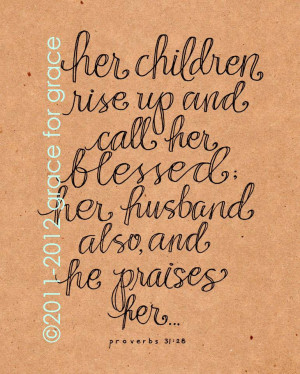 Bible Verses About Mothers 003-07