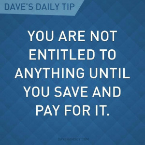 You are not entitled!