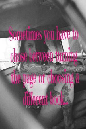 Love me or leave me...