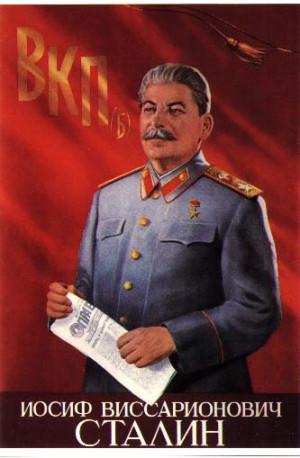 Communist Tyrant and mass murderer Josef Stalin