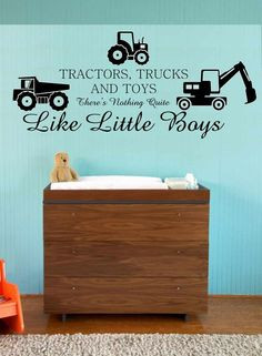 Toys Nothing Quite Like Little Boys. Need this for Connors New room ...