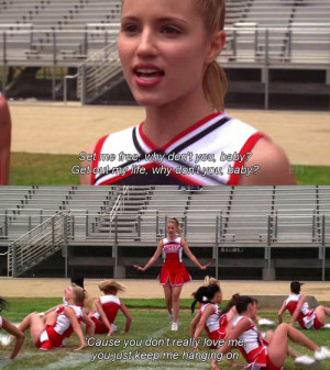 Glee Sad Quotes