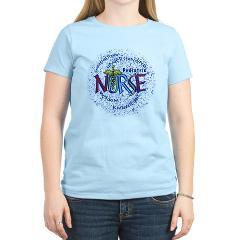 pediatric nurse motto women s pink t shirt pediatric nurse t shirt ...
