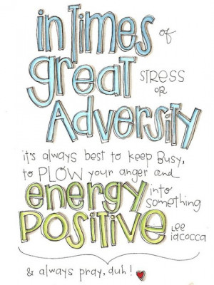 Tips For Getting Through Adversity