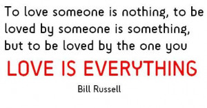 Love is Everything Quotes