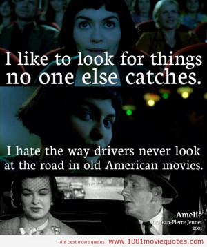 Le fabuleux destin d'Amélie Poulain (2001) - movie quote
