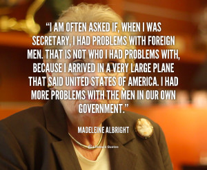 Madeleine Albright Quotes Leadership Clinic