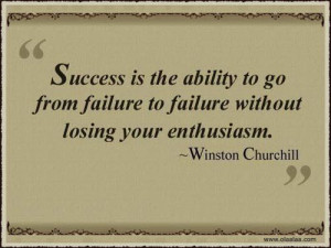 Success Thoughts-Quotes-Winston Churchill-Ability-Enthusiasm-Best-Nice