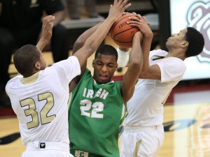 Boys basketball sectional Cathedral vs Warren Central