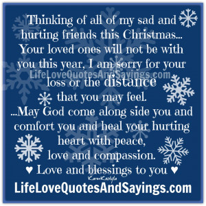 Thinking Of You Friend Quotes And Sayings Thinking of all of my sad