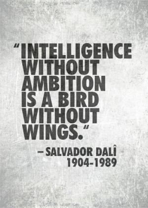 Ambition Picture Quote