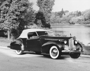 1940 darrin convertible victoria one of the striking darrin packards ...