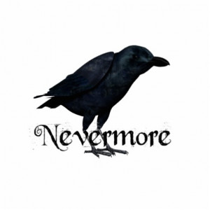 Never More Raven Edgar Allan Poe