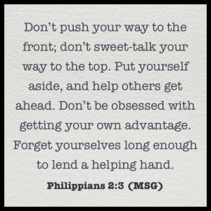 Philippians #Bible #Verse #Selfless #Love #Life #Help #Christ #God # ...