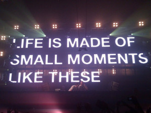 Small Moments Like These – Above & Beyond