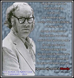 Asimov quote...
