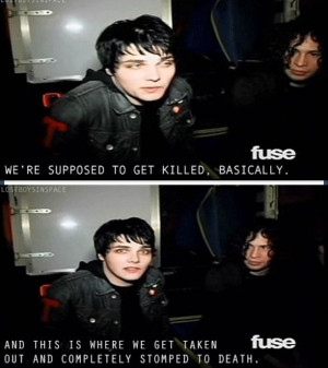 Chemical Romance Funny Moments