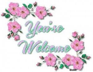 Tagged You Are Welcome Comments, Tagged You Are Welcome Graphics Codes ...