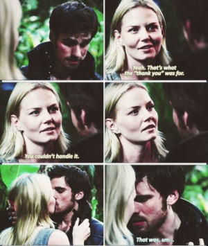 You couldn't handle it... Emma and Hook