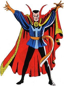 Doctor Strange, art by Steve Ditko