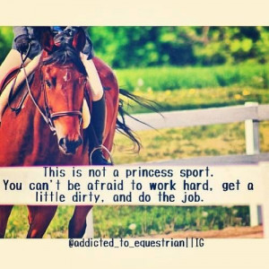 ... why they have a lame picture of english riding to match this quote