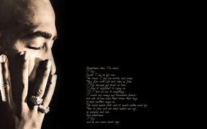 Tupac Shakur quote wallpaper