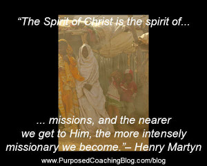 World Evangelism Quotes – The Spirit of Christ is…