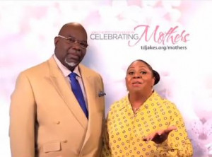 Bishop T. D. and Serita Jakes Gives Encouragement to Mothers for ...
